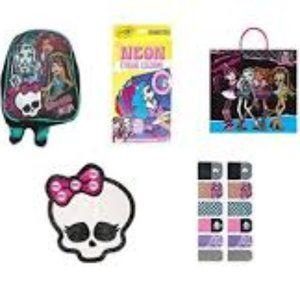 Monster High Mini Backpack Fun Pack Set